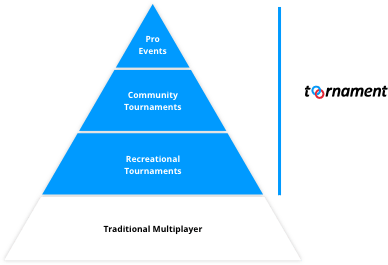 A platform dedicated to esport.